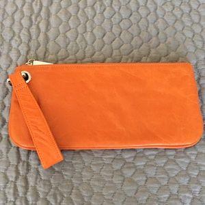 Hobo Orange Clutch